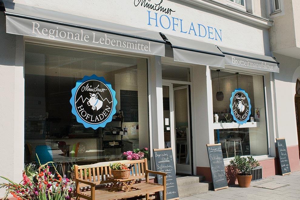 Münchner Hofladen, Nähe Goetheplatz